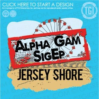 Sigma Phi Epsilon | SigEp | ΣΦΕ | Alpha Gamma Delta | ΑΓΔ | Jersey Shore | Date Party | Function | TGI Greek | Greek Apparel | Custom Apparel | Fraternity Tee Shirts | Fraternity T-shirts | Custom T-Shirts