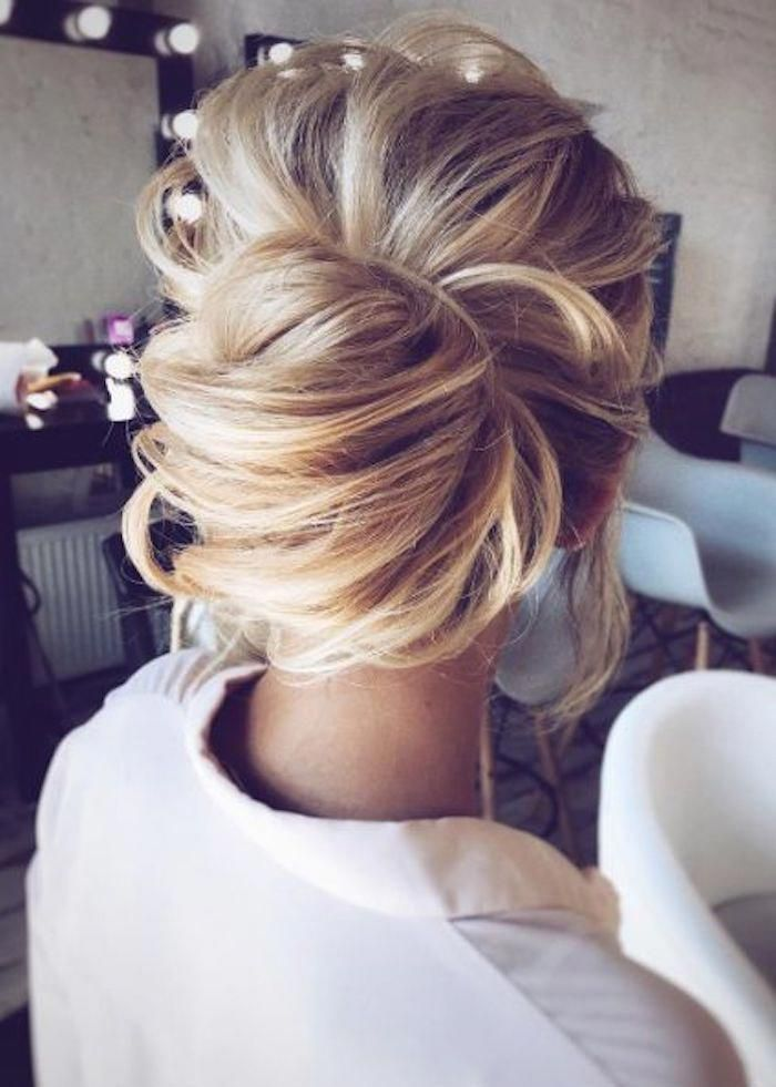 LOOSE UPDOS_Simple and stunning wedding hairstyles you'll love 7 #weddinghairstylesupdo