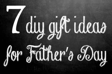 food and drink DIY gifts for Dad
