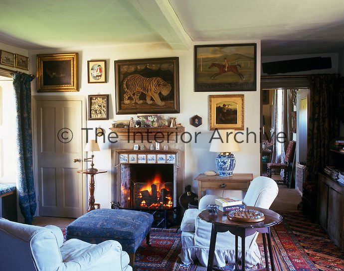 Cozy English And World Styled Sitting Room With: 492 Best English Cottage Style Images On Pinterest