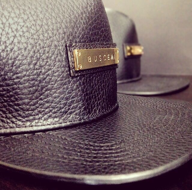 Pleased to have had a big hand in the design and development of BUSCEMI's newest products. Leather Hats and Accessories!