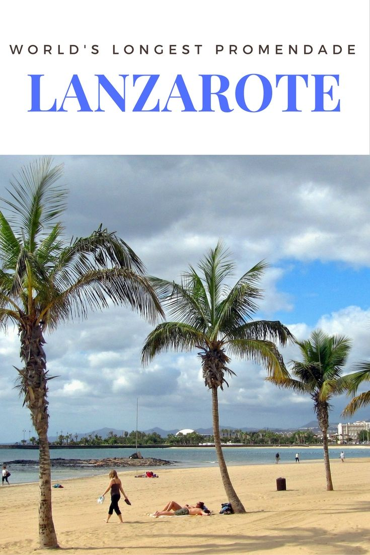World's Longest Promenade in Lanzarote - Guide to Canary Islands