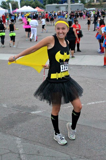 Batman Costume for #CostumeRunHalfMarathon