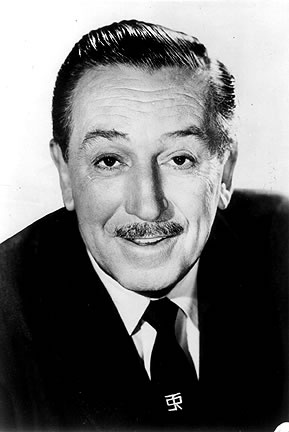 Misjudging:  Walt Disney - film maker; cartoonist