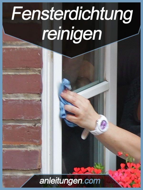 Fensterdichtung reinigen - Eine Fensterdichtung muss genauso wie die Fensterscheibe regelmäßig gereinigt und gepflegt werden. Sonst kann es passieren, dass die Dichtung porös wird und Wärme nach außen lässt. Was es dabei zu beachten gibt, erfährst du in dieser Anleitung.