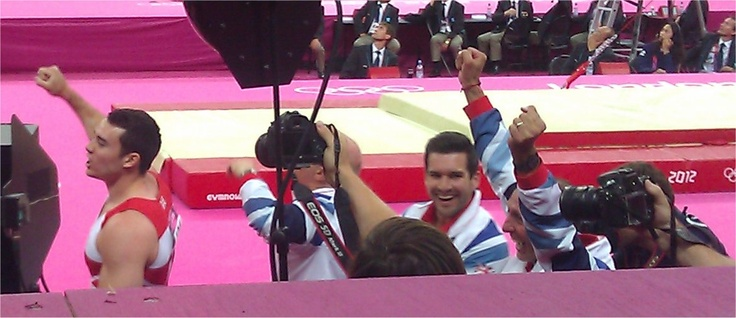 Hearing the news - its a medal and OK its Bronze !!!  :)