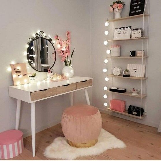 60+ Cozy DIY Makeup Tables Ideas For Your Room – Page 39 of 60