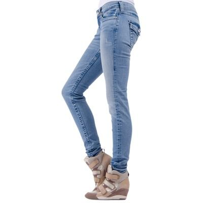 True Religion - Julie Chessboard Jean - Blue £209.00
