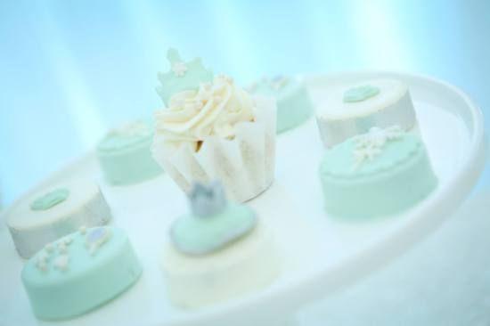 Snow Princess Birthday cupcakes and treats
