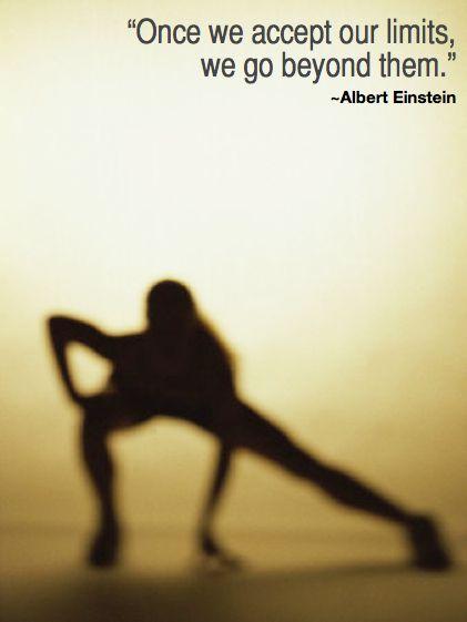 Einstein: Our limits