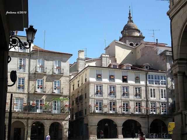 Orense plaza Mayor-2  Por Fernando López