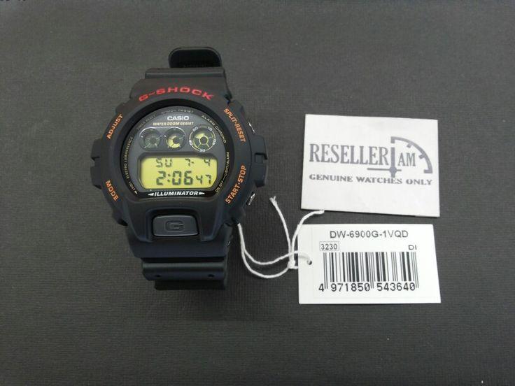Casio G-shock DW-6900G-1