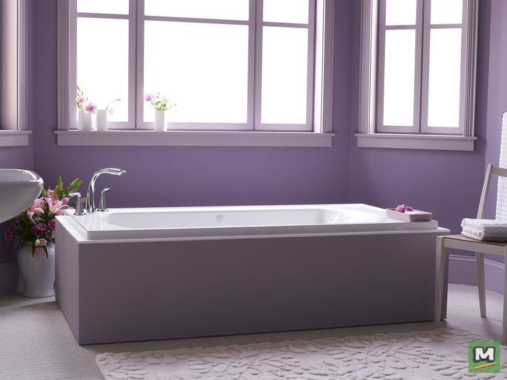 Enhance Your Soaking Experience With A Sterling® Lawson™ 72u0027u0027 X 36u0027u0027 Air  Massage Bathtub. Boasting A Longer Length And Deeper Basin, This Drop In  Bathtub ...