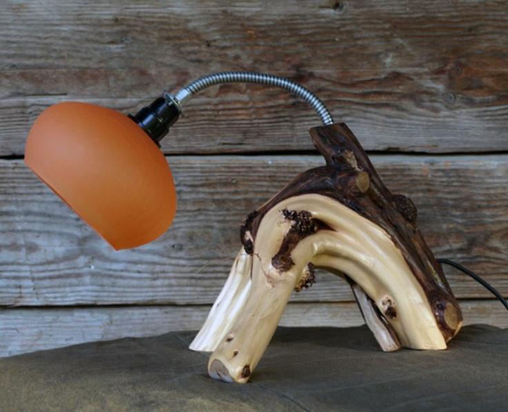 Wooden Lamp by http://www.breslo.hu/Morgodshop/shop