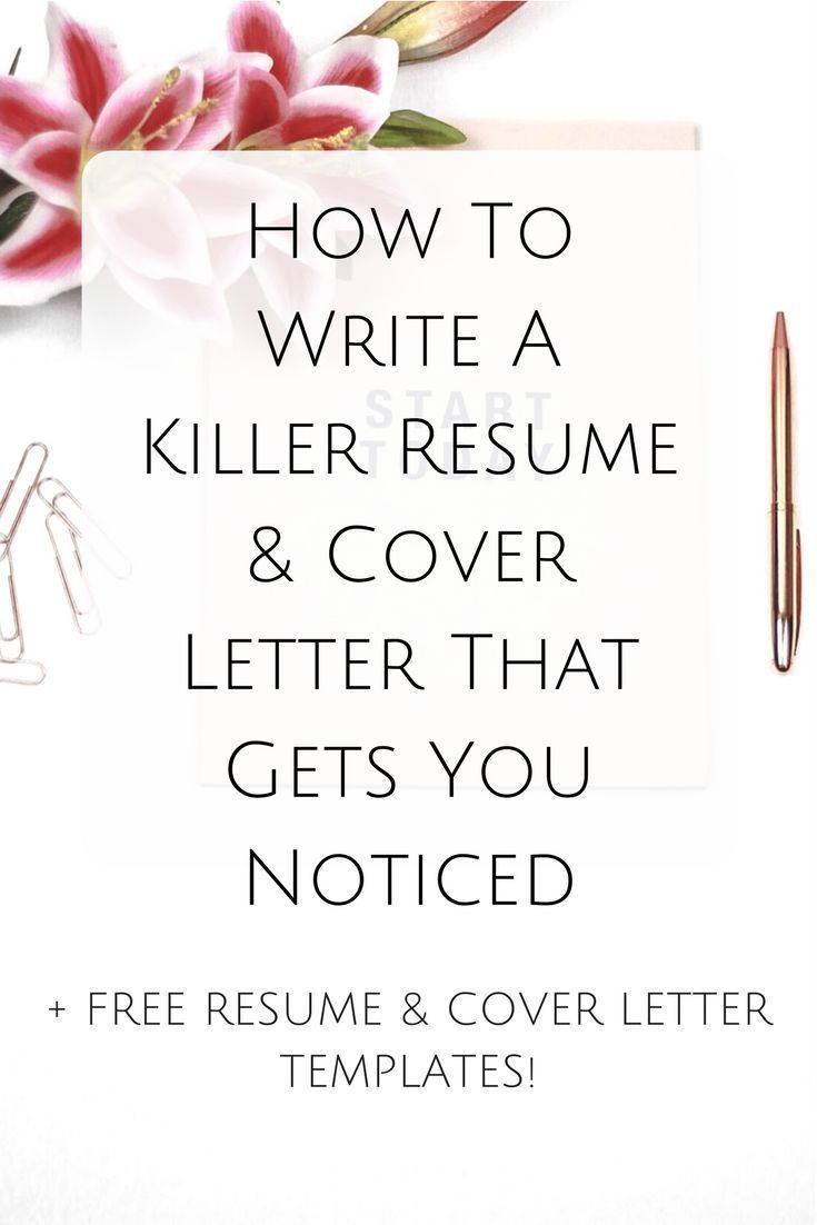 *Content Upgrade Alert! We've just added a cover letter template to our resource library! Resume | cover letter | job hunting | job search | job interview | career | hire me | interview preparation | free resume & cover letter template