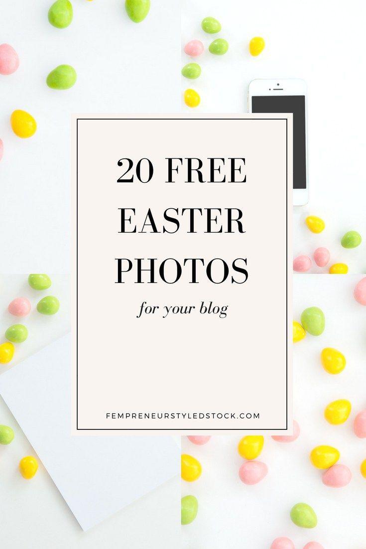 20 free easter stock photos for your blog | Fempreneur Styled Stock