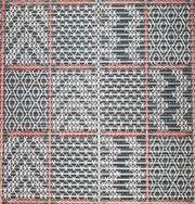 Aoraki, interior tukutuku panel detail.