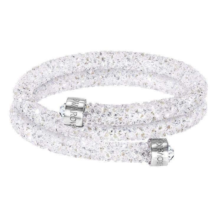 Swarovski Crystaldust Bangle Double - - 5255900, Women's