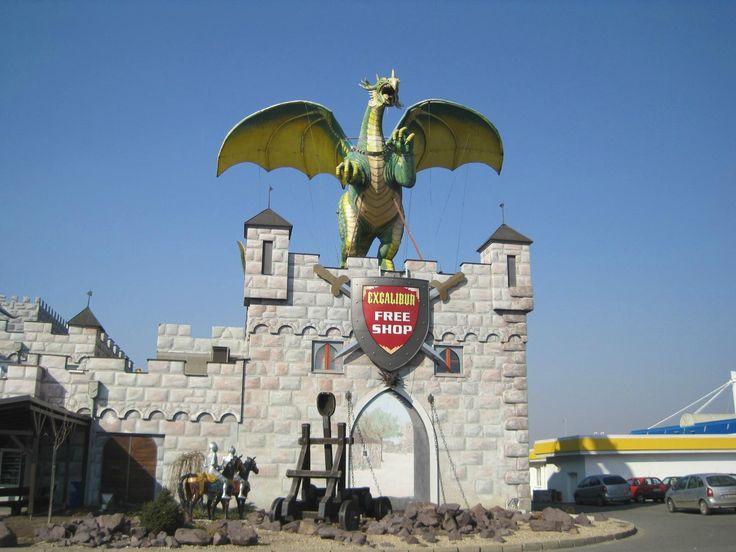 Excalibur City (shops, cafe, water park) - Znojmo, Czech Republic