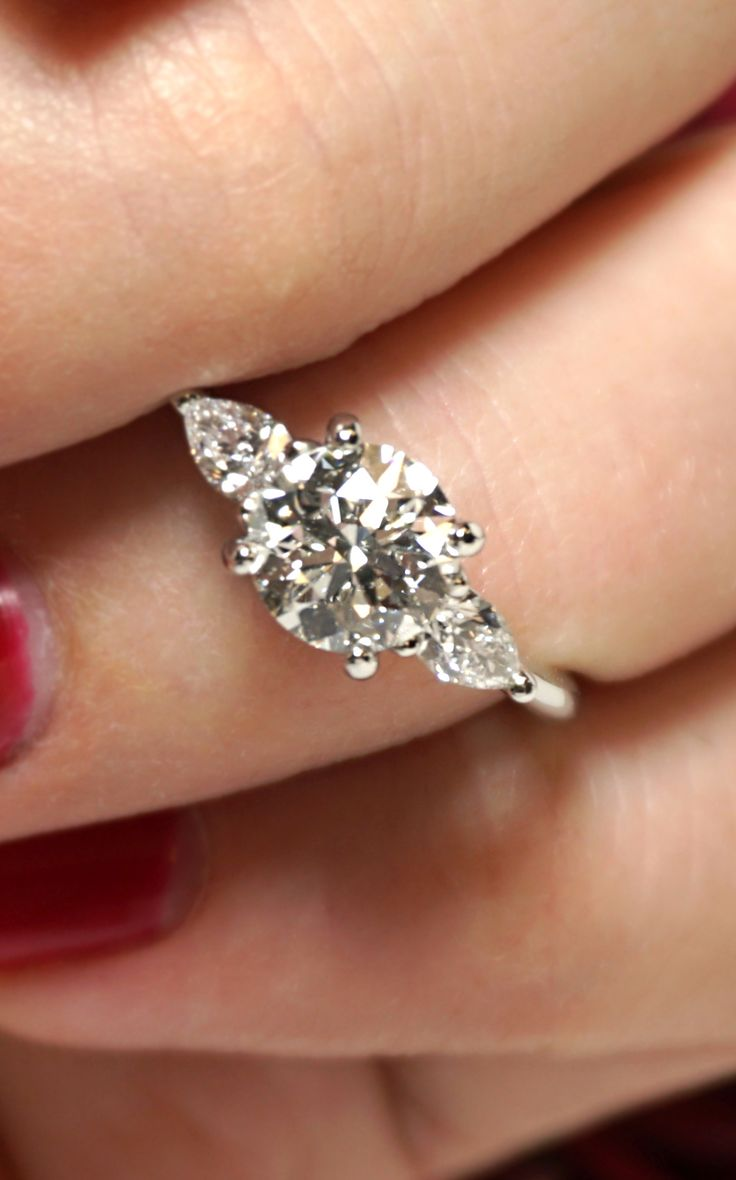 Work With Our Designers To Create The Perfect Ring! This Is A Custom Three
