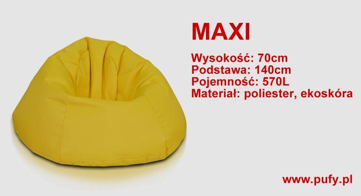 Maxi to wielki fotel który ma aż 570L! Fotel Maxi jest modelem polecanym dla całej rodziny, może służyć do wypoczynku, leniuchowania, jak i spania. Dla dzieci jest wygodnym i bezpiecznym miejscem zabaw, bez ostrych kantów i krawędzi. Co myślicie?  www.pufy.pl #konkurs #star #gwiazda #pufa #pufy #wygodnapufa #pufadosiedzenia #sako #pufadladziecka #pufadosiedzenia