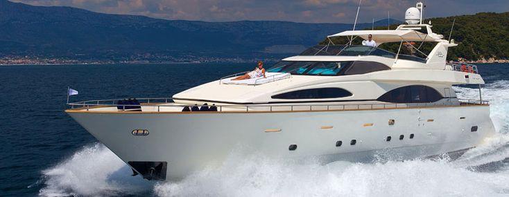Luxury yacht charter Croatia, mega yacht & motor boat charter in Croatia