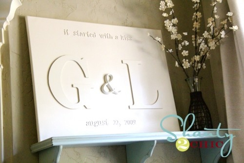 Wedding Gifts For Sister And Brother In Law: Wedding, Initials And Great