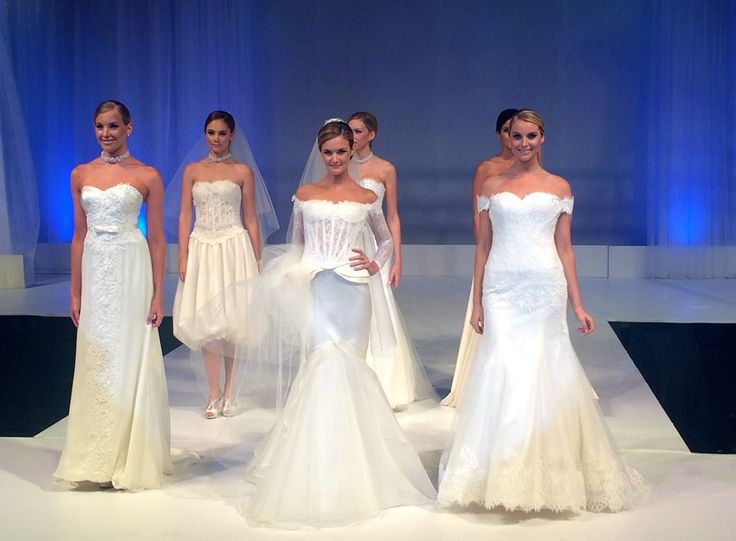 Who just saw these amazing Mia Song Couture Wedding Gowns take the #UltimateBridalEvent fashion parade?! It's all happening here at the Qantas Credit Union Arena (Formerly Sydney Entertainment Centre)