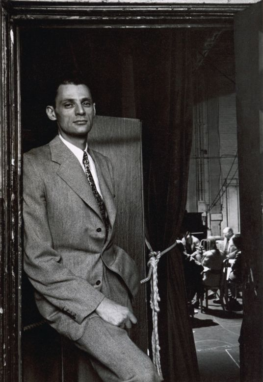 Arthur Miller, New York, NY, 1947. By Arnold Newman.