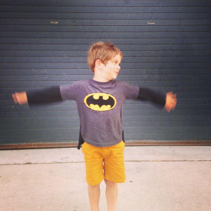 Even Super Heroes wear Petite Lucette :)
