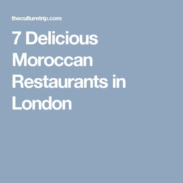 7 Delicious Moroccan Restaurants in London
