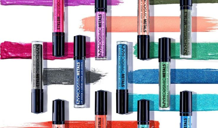 Where To Buy NYX's Cosmic Metals Lip Cream If You Want A Glossy, Glittery Lip For Summer — PHOTOS