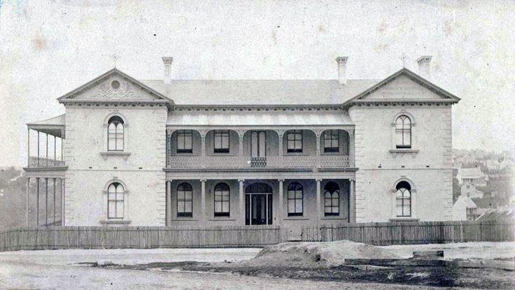St Vincent's Hospital,Darlinghurst,in eastern Sydney in c1869-74.A♥W