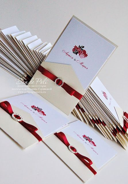 pomegranate wedding wedding invitations