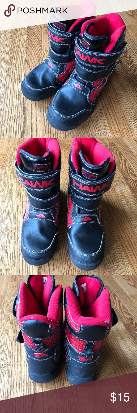 Boys winter boots Boys winter boots with thermolite size 5. Tony Hawks. Shoes Rain & Snow Boots