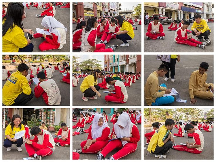 Indonesia: 150 Vocational College Students and Teachers on Batam Island Learn the Falun Gong Exercises