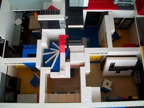 Rietveld Schrder House Interior