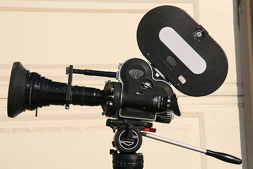 arri S16mm movie film camera two angenieux zooms crystal sync primes sachler