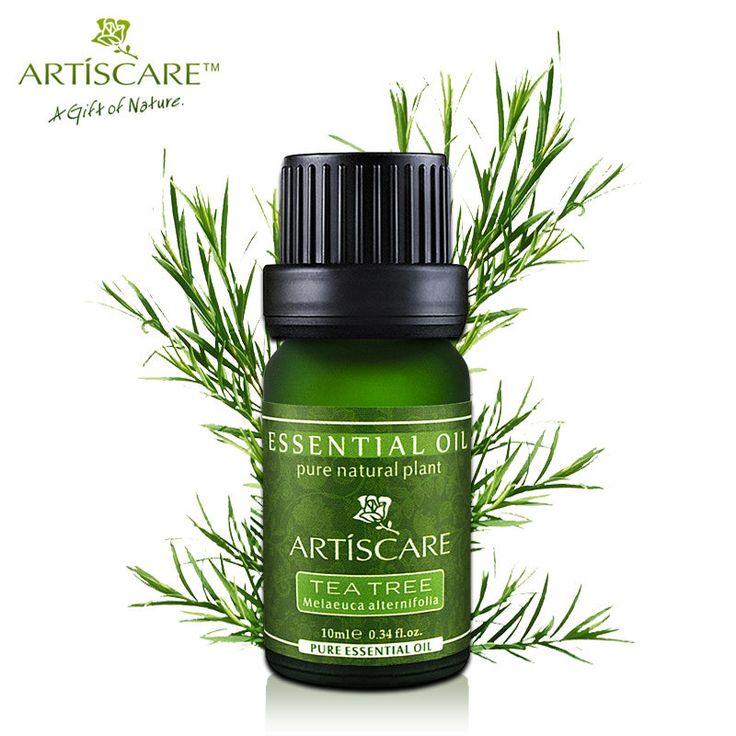ARTISCARE 100% Rosto Cuidados Com A Pele Da Árvore do Chá Puro Óleo Essencial de Óleo Tratamento da Acne Removedor de Cravo Anti Manchas de Cicatriz Facial Beleza