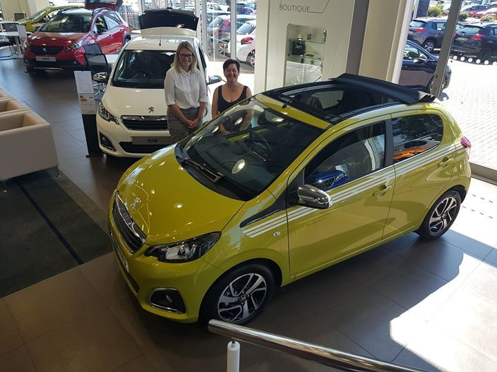 What A Fantastic Sunday To Pick Up Your New Peugeot 108 Collection