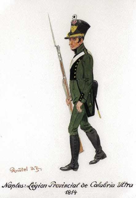 Fuciliere della legione provinciale della Calabria del regno di Napoli