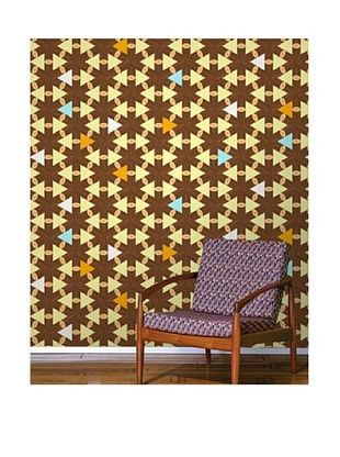 62% OFF Astek Wall Coverings Set of 2 Lincoln Logs Wall Tiles