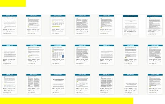 ese 697 entire course Ese 697 week 1 assignment lesson plan #1 reading comprehension ese 697 week 1 dq 1 aligning instruction with common core state standards and the iep.