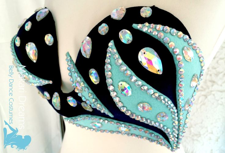 Unique and elegant designs for belly dance costumes. www.makaridreams.com