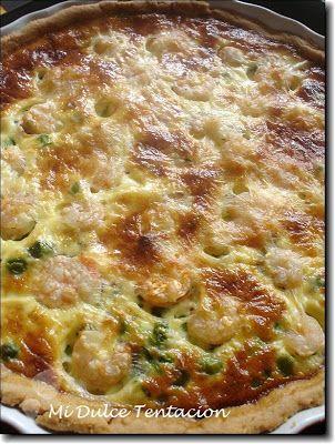 Ingredientes:   Masa Quebrada:  - 250 grms de harina. - 125 grms de mantequilla. - 1 huevo. - Sal. Relleno:  - 300 grms de espinacas. - 200 ...