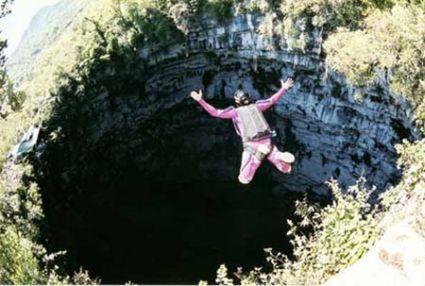 Bucket List- Base Jump Cave of Swallows
