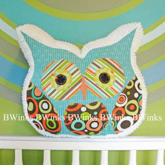 new owl pillow stuffed owl bedroom decor pillow no 1 by bwinks 3400