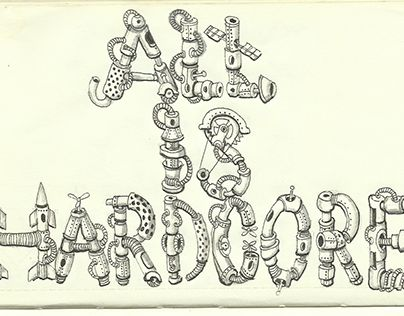 """Check out new work on my @Behance portfolio: """"all is hardcore when is made with love"""" http://on.be.net/1gCDw40"""