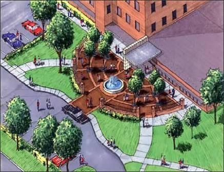 Resultado de imagen para entrance plaza design