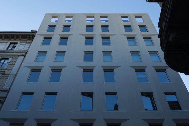 Luxottica Headquarter building in Milan